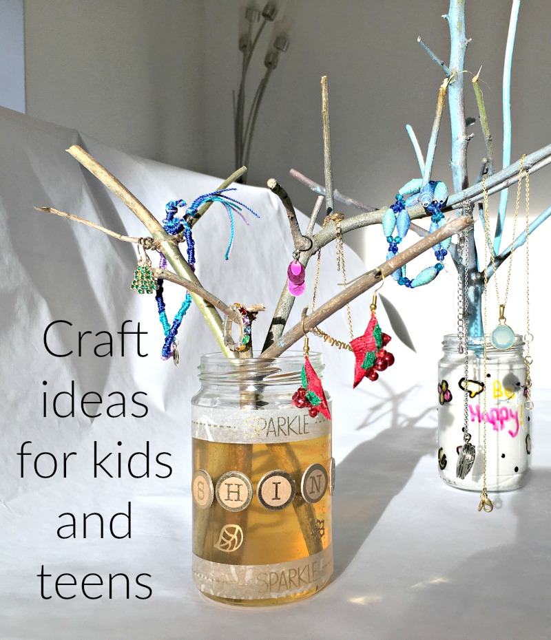 Things to do with kids at half term - check out the craft ideas on YouTube and Pinterest