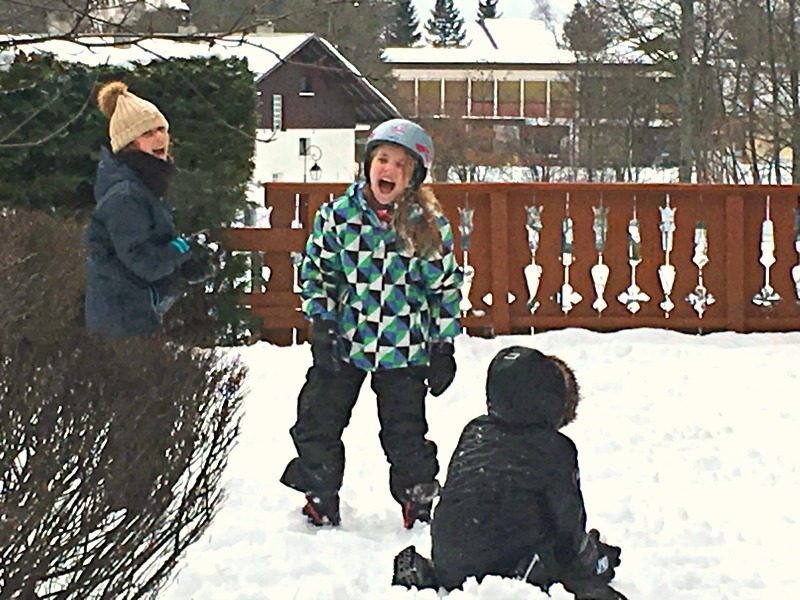 Children's Snowboots are a must for fun in the snow