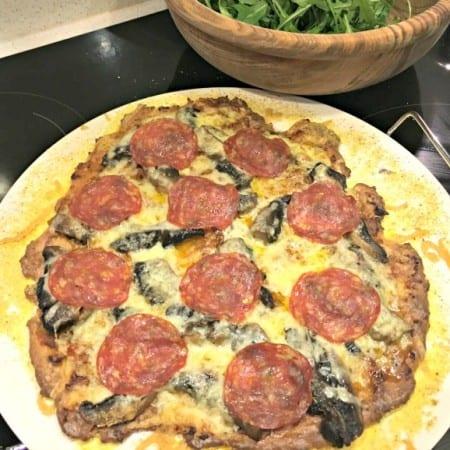 Low carb fathead pizza