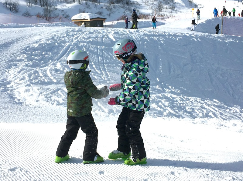 Keeping children safe on a ski holiday - wear something distinctive