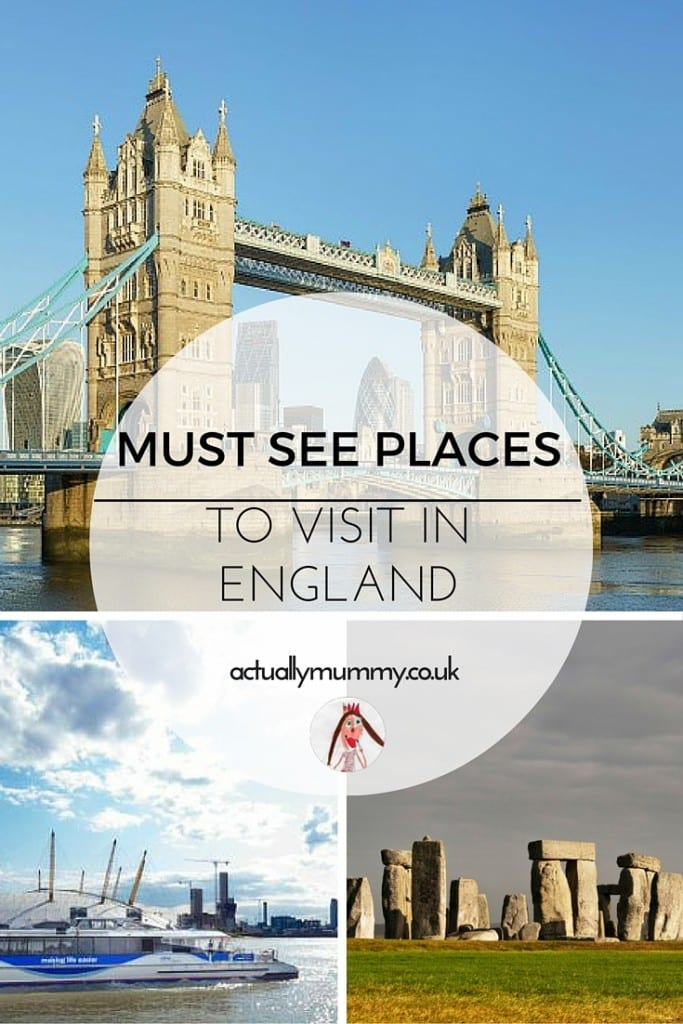 Great places to visit in England with the family