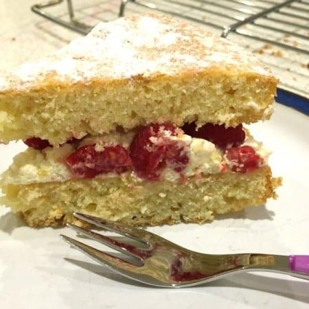 How to make better cake: Lemon and Raspberry Victoria Sponge Sandwich recipe with the Sage Scraper Mixer Pro