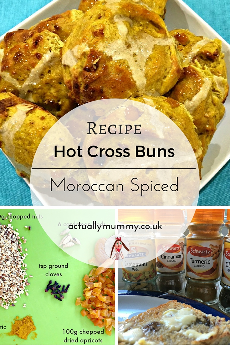 Easter Baking recipe: Moroccan spiced Hot Cross Buns