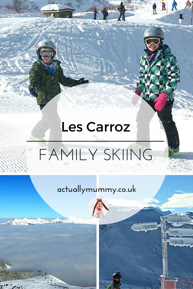 Les Carroz, in the French Alps, is a great location for a relaxed family ski holiday. Perfect for first timers!