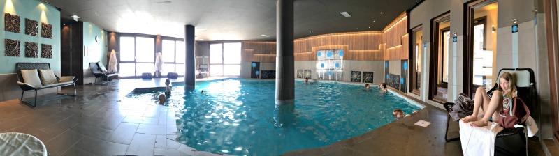 Swimming pool at Le Hameau du Kashmir