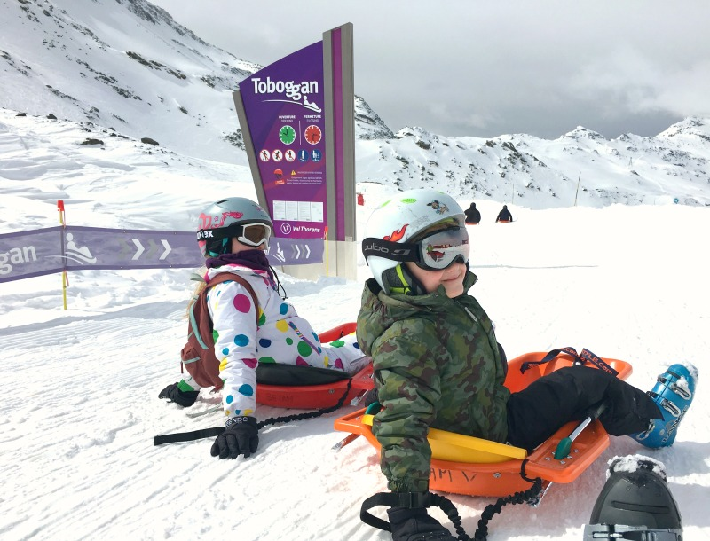 Ski: Tips for doing The Luge Toboggan Run in Val Thorens