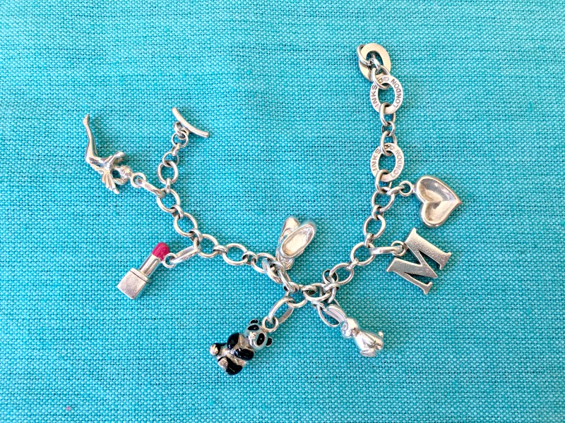 Christening gift ideas: a charm bracelet can be added to every year on the child's birthday.