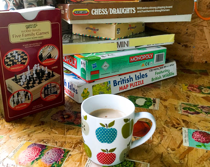 Games supplied by Old Bidlake Farm camping