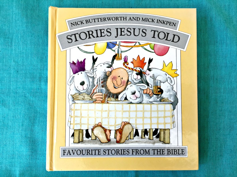 Christening gift ideas: a lovely book will delight both parent and child.