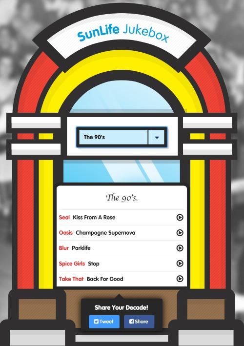 SunLife Jukebox SunLife