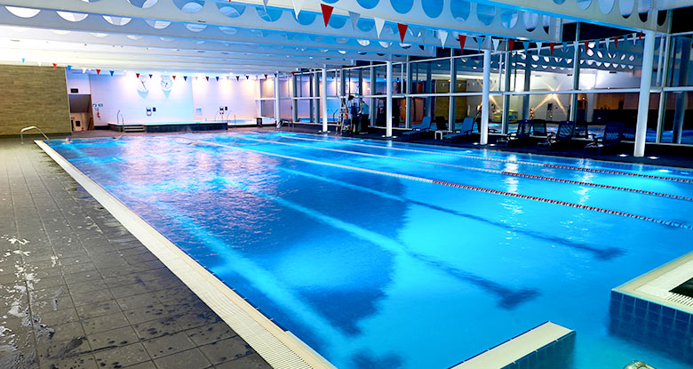 Family activities at David Lloyd Leisure - a pool is always popular with families