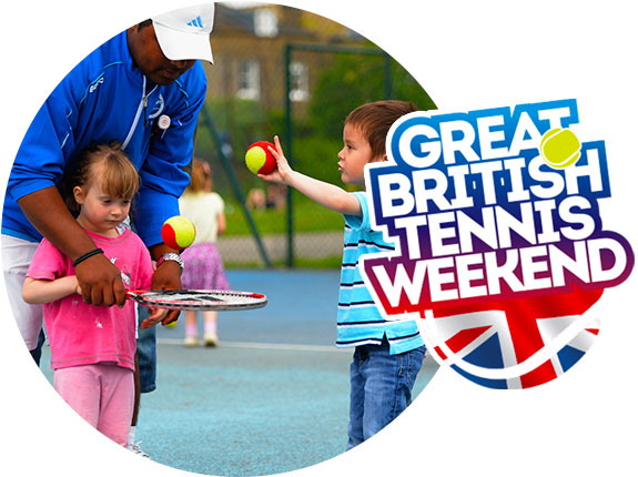 Get Involved in a Great British Tennis Weekend! #GBTW