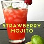 Non-alcoholic strawberry mojito recipe