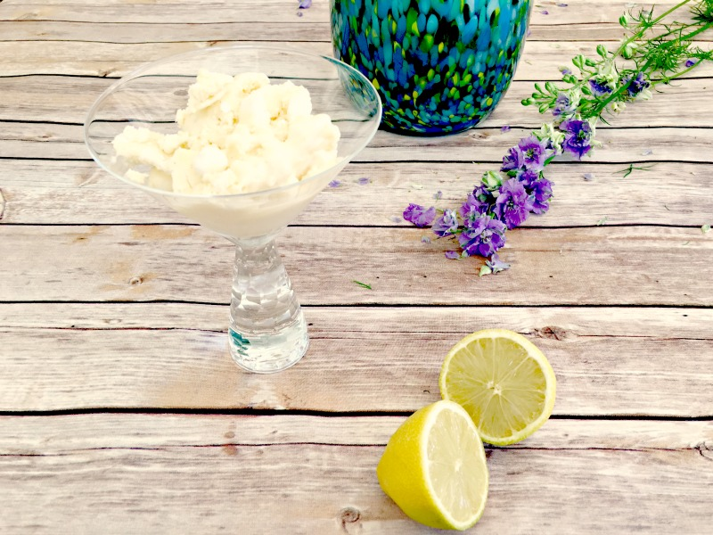A zingy, crunchy, refreshingly sweet lemon meringue ice cream recipe you can easily make at home