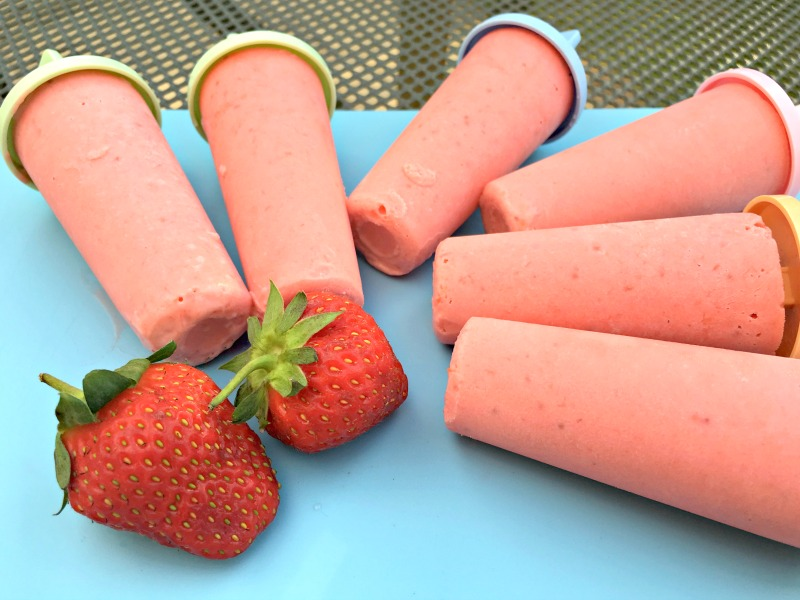 Creamy Strawberry Ice Lollies Recipe – with a Colada Twist!
