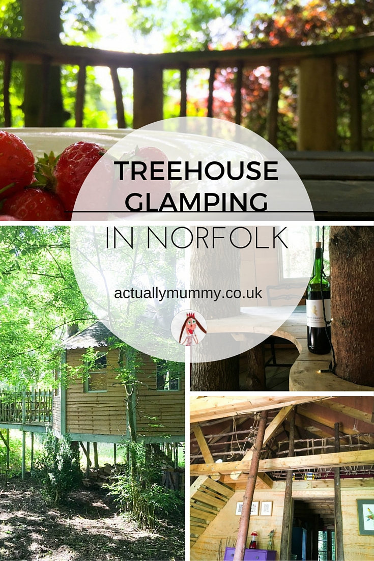 A review of the treehouses at West Lexham - a beautiful glamping site in Norfolk