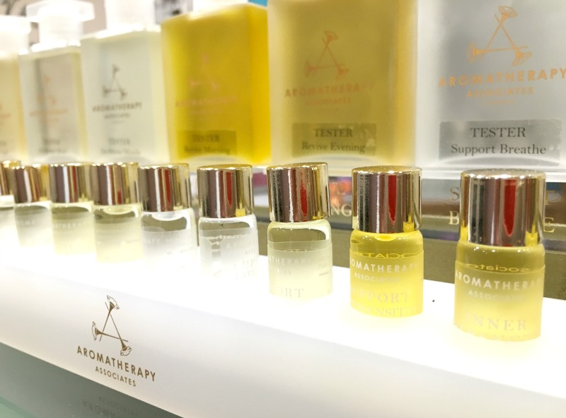 The Serenity Spa at Piran Meadows resort uses gorgeous Aromatherapy Associates products