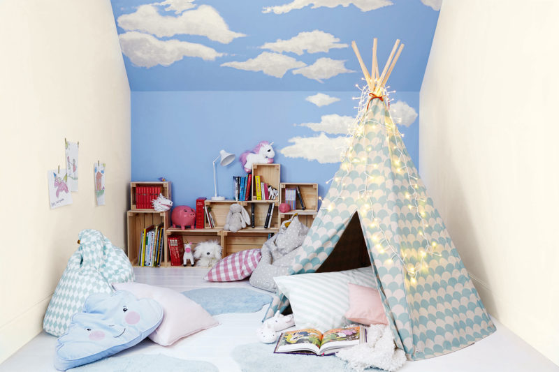 Storybook bedroom