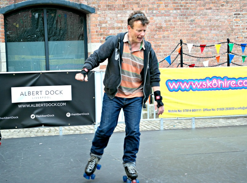 Loads to do at Albert Dock over the summer, including this roller rink!