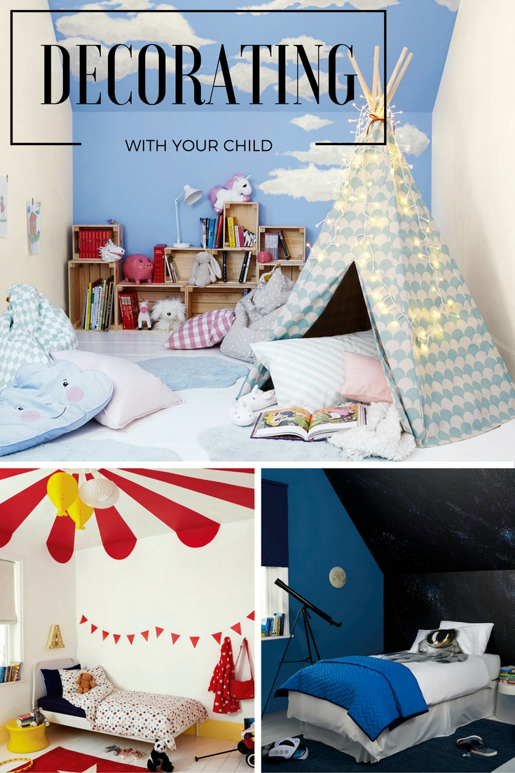 Getting your child involved in a summer bedroom makeover project will give him a real sense of ownership and happiness in his room. And it's easier than you'd think, with these top creative tips.