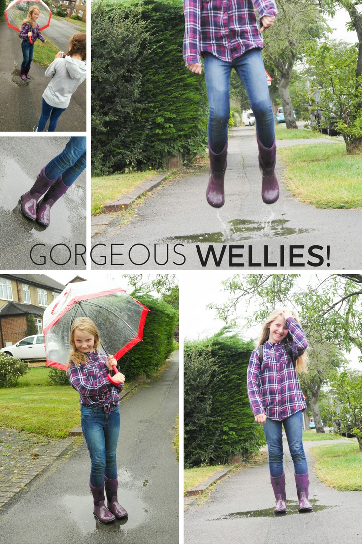 We tested out our new BOGS wellies on a fun photoshoot for friends.