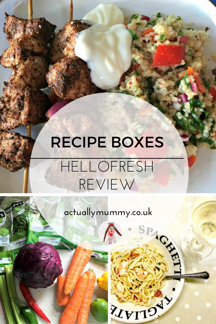 Have you ever tried a recipe box? There's lots of choice, from organic, to dinner-party, to everyday family food. We tested HelloFresh and had some good results