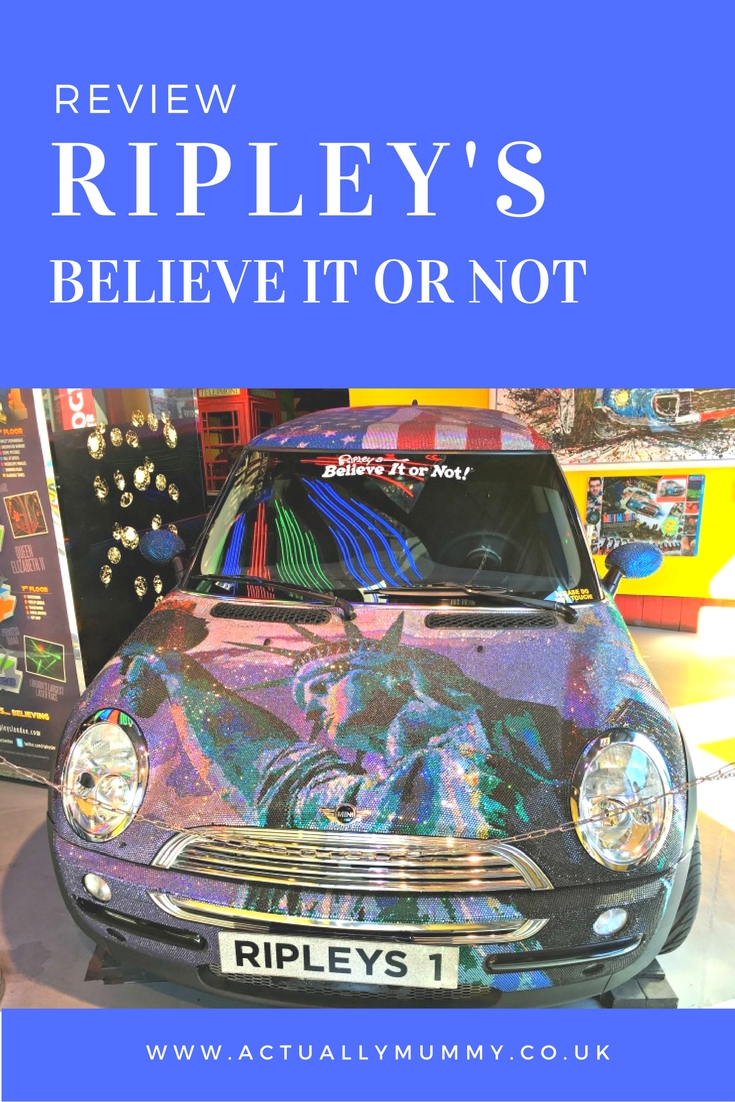 A trip to Ripley's Believe it or Not! London is a brilliant part of a day out with kids.