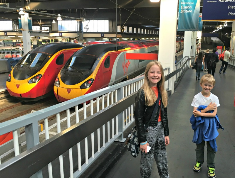 Easy famiy trips with Virgin Trains from Euston