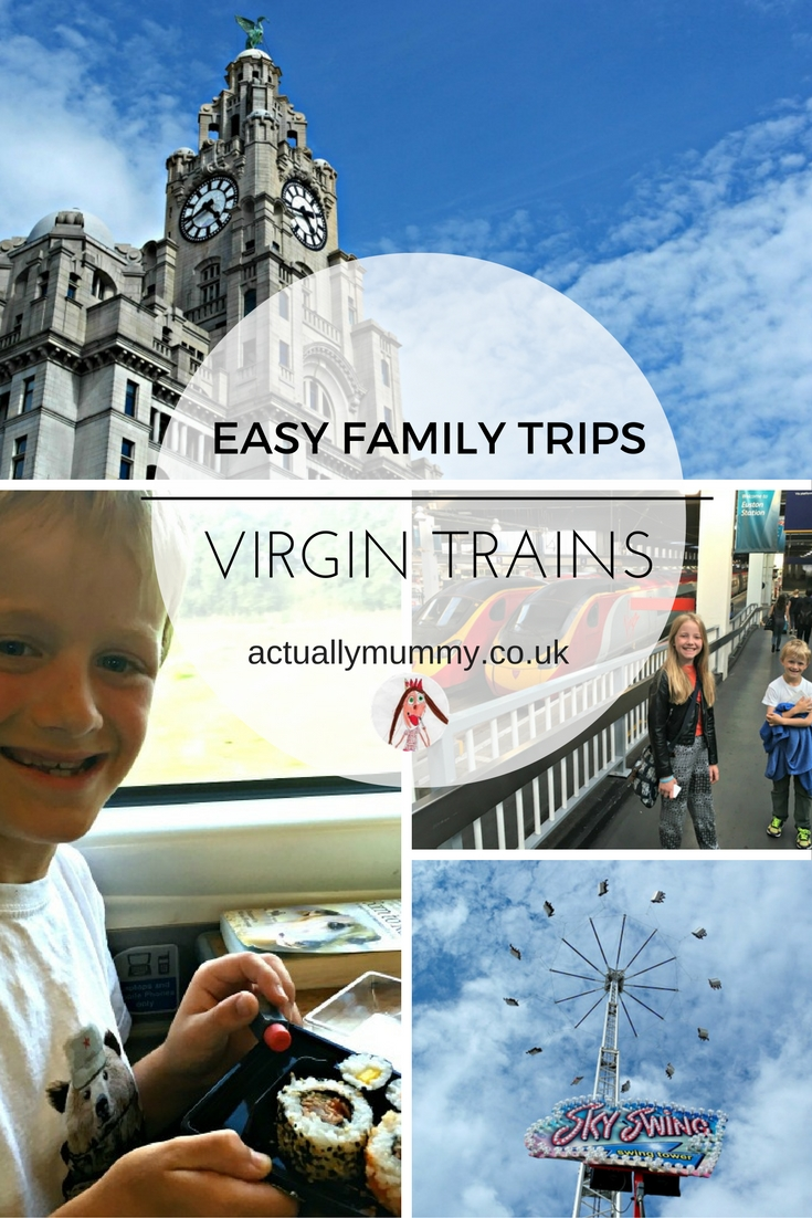 A brilliant family day out to Liverpool - taking the train made this trip hassle-free and meant we could fit so much more into our time
