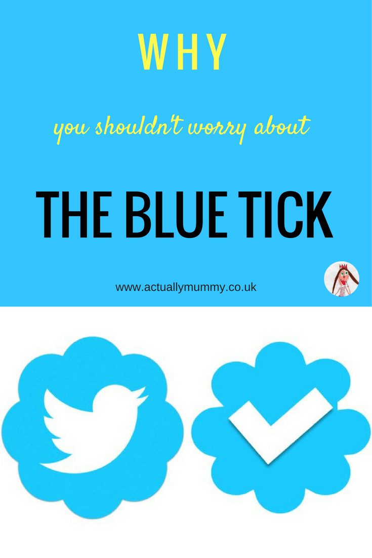 Never has a simple icon caused so much stress and insecurity. The rollout of the blue tick application process means that non-celebs can now have the badge of approval from social media sites. But what happens when you do don't get one? And when you do...?