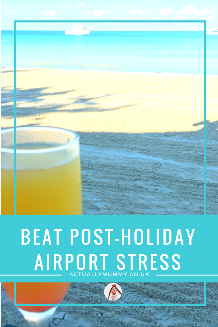 Clever hacks for making the return trip from a holiday much less painful. Click through for solutions to airport stress, and easing the pain of returning from a dream holiday.