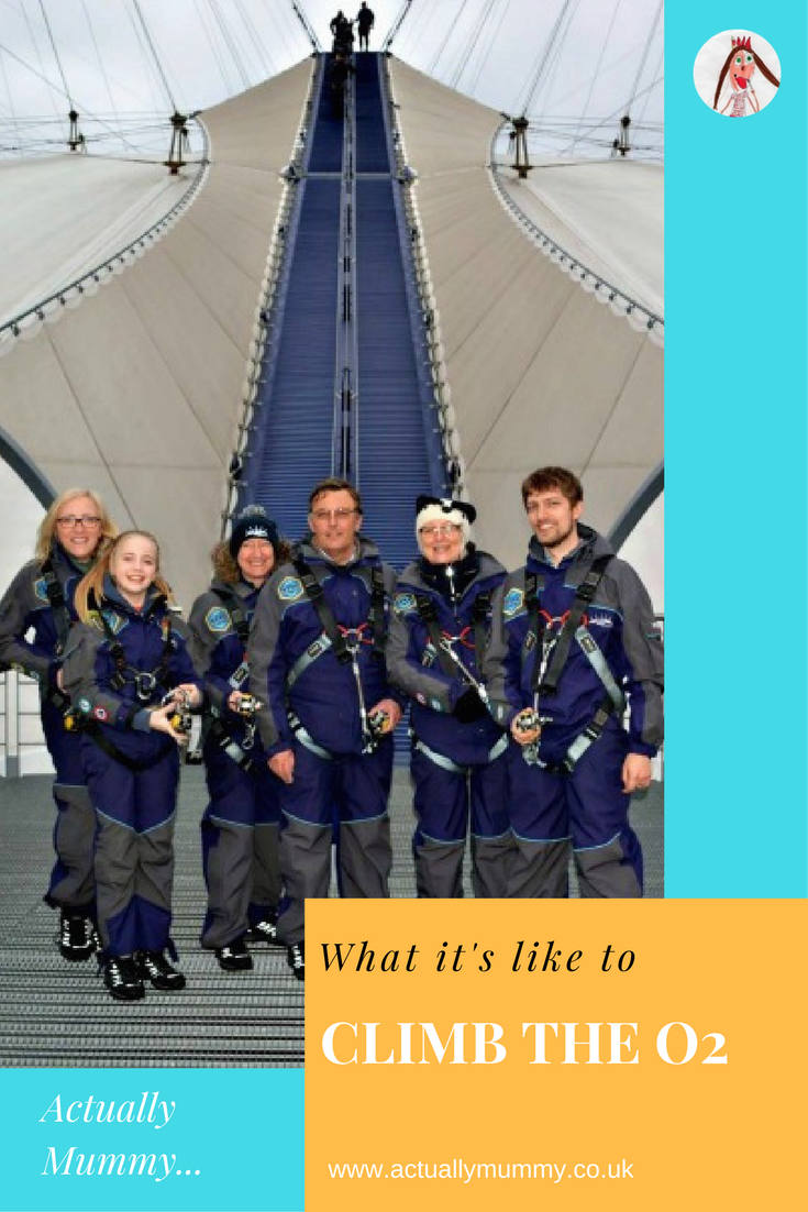 "A review of the 'Up At The O2"" experience. Find out more about what it's like to climb the O2, and if it's right for your family and friends."