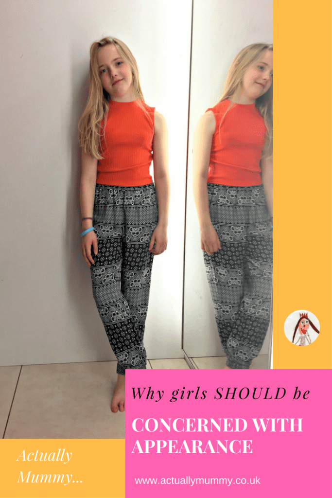 Do you worry that your daughter is too concerned with her looks? Don't. It's all good. Here's why, and how to support your teenage daughter through it all.