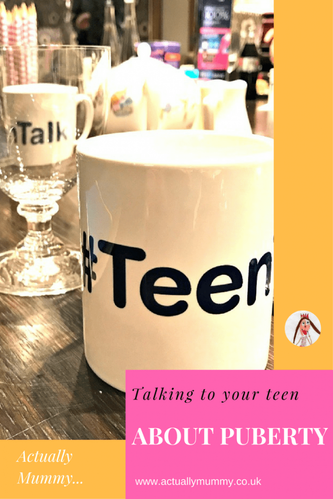 Nervous about having the Teen Talk? You're not alone, but help is at hand. Click through for some resources to help broach the subject of puberty with teenagers.