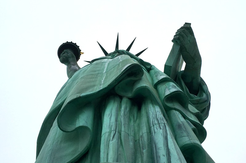 Try and visit the crown at the Statue of Liberty on one of your New York Trips