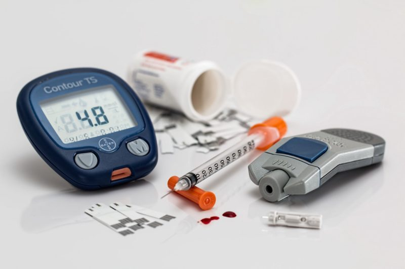 Devices and medicines used for managing blood sugar
