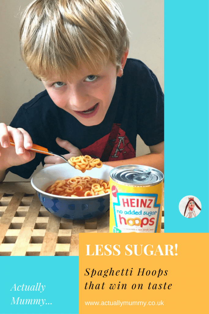 Heinz have made spaghetti hoops with much less sugar, that still taste great enough to keep kids happy. Plus, they have a whole 1 of their 5 a day - click through to find out what our kids thought.