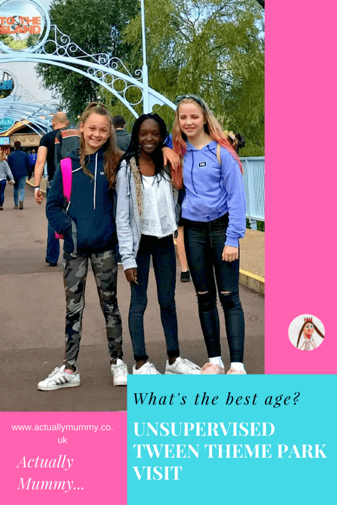 How old should your kids be before they can do a theme park visit without you? Here are some things to think about before you decide. Click through to find out how a group of 12 year olds got on at Thorpe Park without a parent.