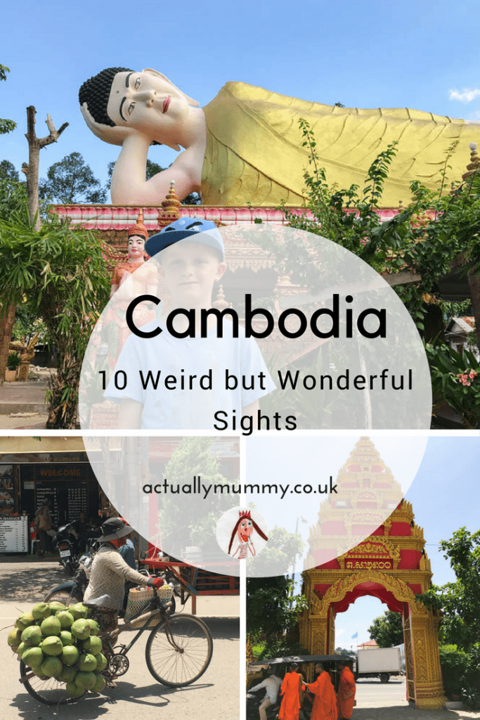 Cambodia is one of the most unusual places you'll ever visit. Discover some of its history as we learned it on our family holiday, and the weirdest things you'll see while you're there. Click through for some weird and wonderful Cambodia facts.