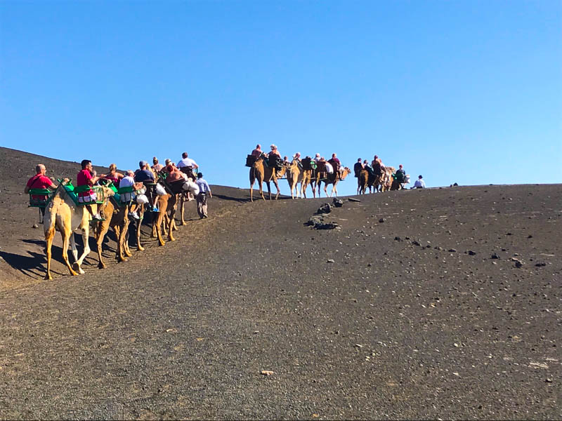 Travel: Volcanoes in Lanzarote