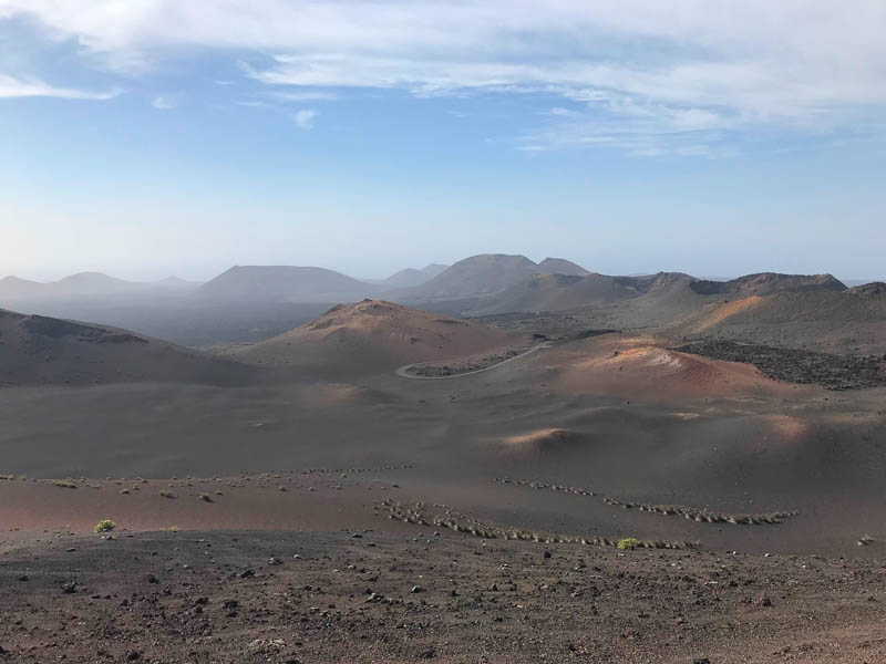 The stunning volcanoes of Lanzarote