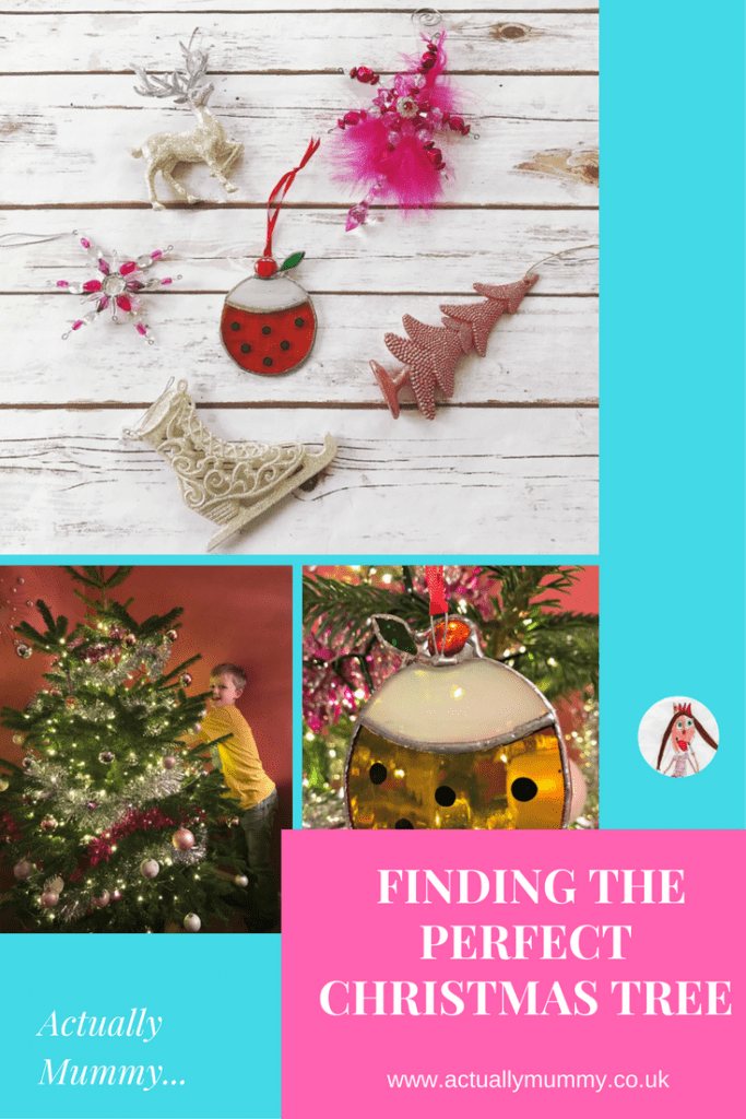Finding, and decorating the perfect Christmas tree, when you're up against it time wise with a family. We had some help from Pines and Needles