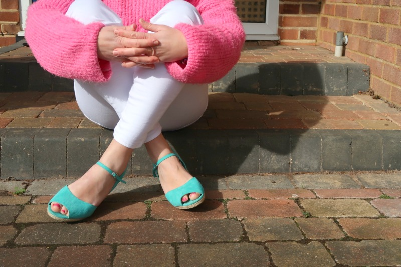 Comfortable shoes that are still stylish: New Look wide fit wedges