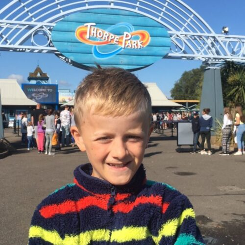 Growing up: Celebrating 'Height Day' at Thorpe Park