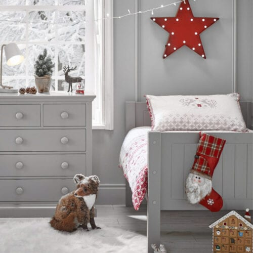 Christmas Eve traditions for families - Christmas bedding and decor ideas