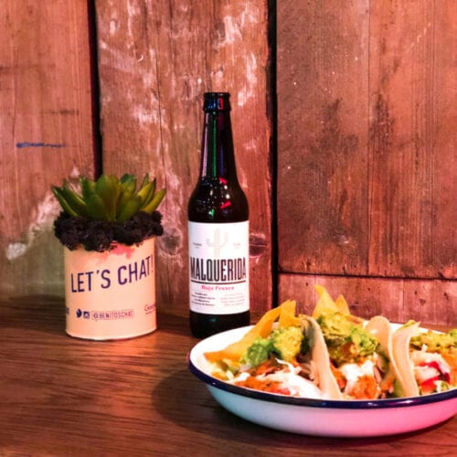 Taco's and beer at Mexican restaurant Benito's Hat in St Albans - review
