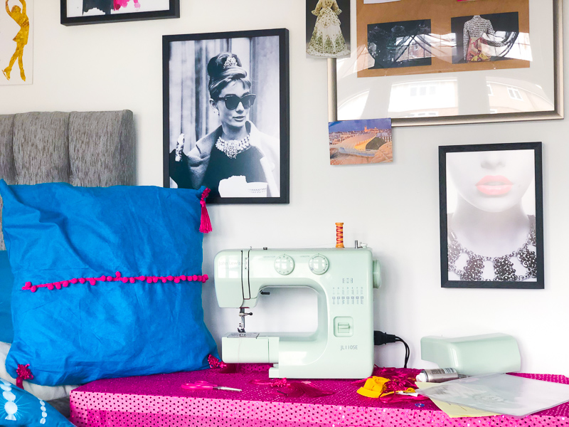 Creating an Inspiring Sewing Space with Framed Prints