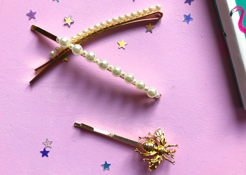 Pretty hair grips - Christmas gifts for teenage girls