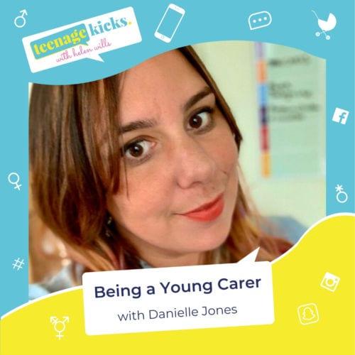 Danielle Jones on the Teenage Kicks podcast