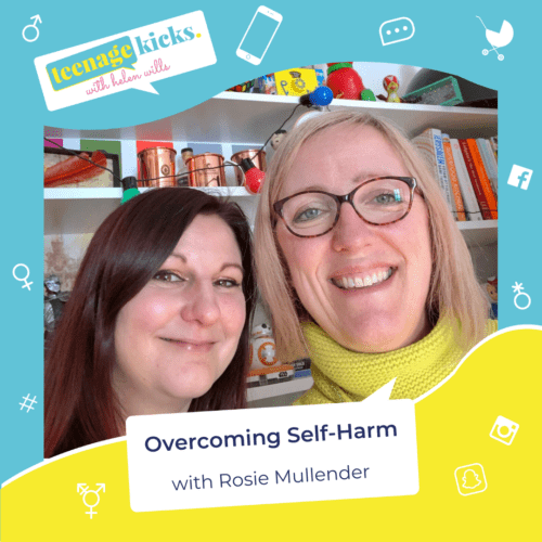 Helen interviews Rosie, who self-harmed for 10 years from the age of 14